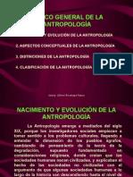 MARCO GENERAL DE LA ANTROPOLOGIA