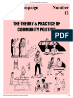 The Theory & Practice of Community Politics