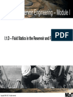 E (I-1D) Fluid Statics & Fluid Distribution