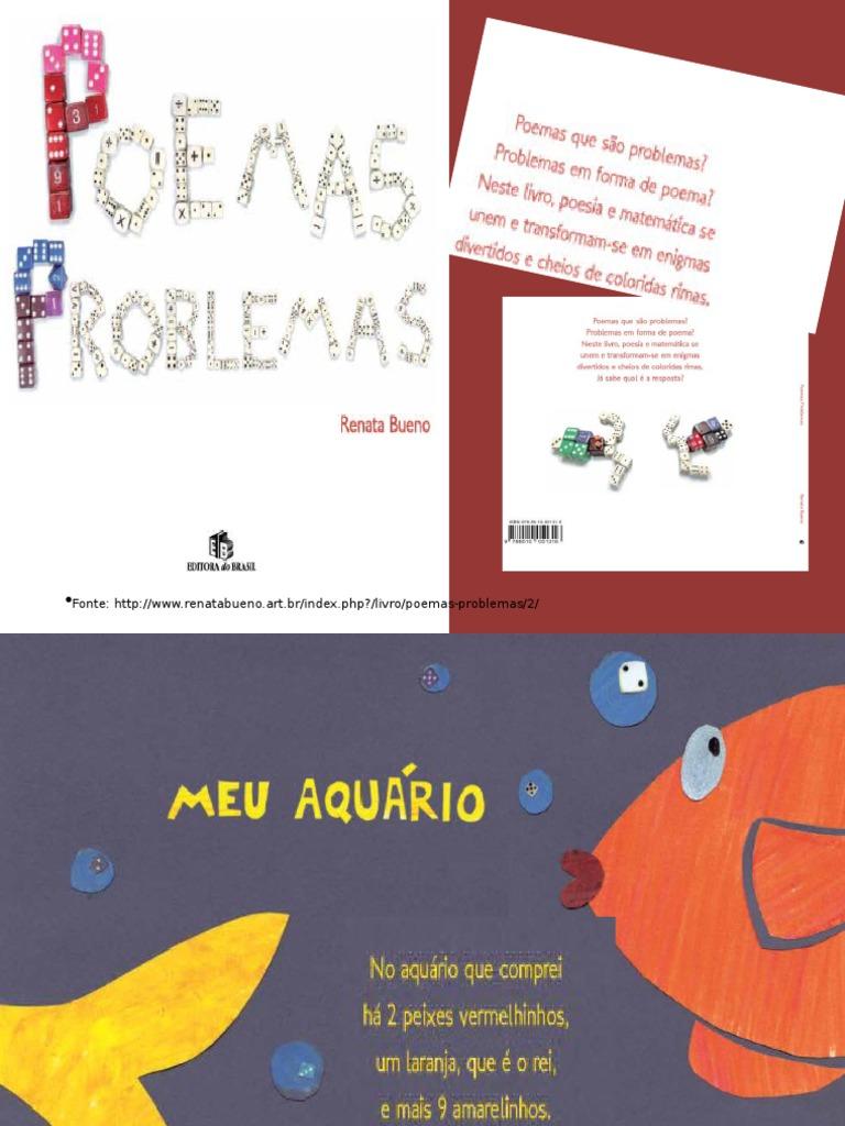 Livro Poemas Problemas Renata Bueno Recorte De Algumas P Uginas Reparado
