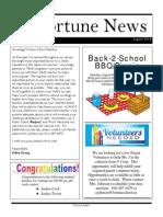 FS Newsletter - August 2014