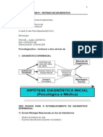 DSM IV – ROTINAS DE DIAGNÓSTICO