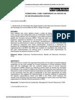 ArtigoLIDERANÇA TRANSFORMACIONAL COMO COMPONENTE DA GESTÃO DE RECURSOS HUMANOS EM ORGANIZAÇÕES SOCIAIS