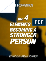The 4 Elements to Becoming a Stronger Person