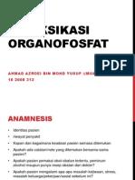 Intoksikasi organofosfat