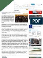 ´Vivir na Coruña´, en el Vaticano - Sociedad - La Opinión A Coruña