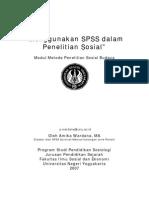 Modul Menggunakan SPSS Dalam Penelitian Sosial (Wardana)