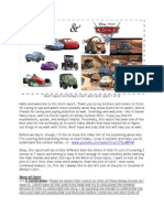 Short study/Report on disney Cars1