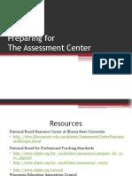 Preparing for Assessment Center