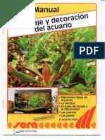 Montaje y Decoracion Del Acuario - Manual 1