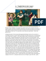 disney's Tangled ~ a Short study/Report