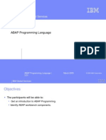 ABAP Programming Language