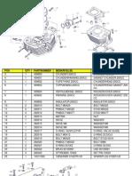 Lifan 163FMJ Engine Parts manual