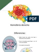 Hemisferio Derecho-lobulo Temporal y Occipital