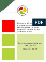 Biological Effects of Transgenic Maize