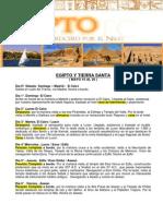 Tierra Santa Egipto Misterioso Salida Grupal