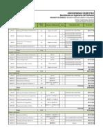 2014-1 Oferta Academica Bisoft