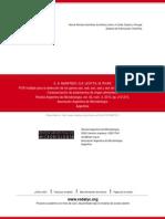 PCR Múltiple Para La Detección de Los Genes Sea, Seb, Sec, Sed y See de Staphylococcus Aureus. Carac