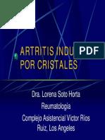 Artritis Inducida Por Cristales