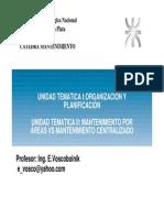 UNIDAD 1 Y 2 -ORGANIZACIÓN Y PLANIFICACIÓN