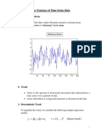 Lecture 2 - Key Features of Time Series Data