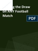 Trading the Draw on Any Football Match