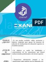 Presentación EXANI II