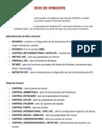 Lista de Comandos de Windows (CMD)
