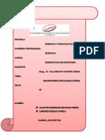 Tarea Grupa Obligaciones Clausula Penal