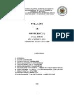 Syllabus de Obstetricia EAPMH 2013-I
