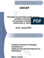 Violence Prevention Strategies.pps