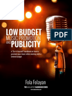 Low Budget Music Promotion and Publicity