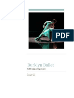 burklyn ballet experience reflection
