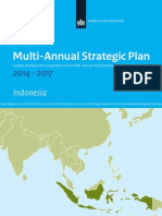 Indonesia Multi Annual Strategic Plan 2014 2017