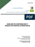 Análisis de Confiabilidad Riesgo en Puentes Atirantados