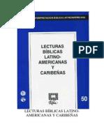114301886 Ribla 50 Lecturas Biblicas Latinoamericanas y Caribenas
