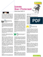Article on Chinese Zodiac Forecast 2014