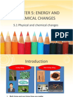 Bab 5 Energy and Chemical Substances