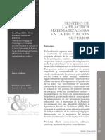 SentidoDeLaPracticaSistematizadoraEnLaEducacionSup-4237861