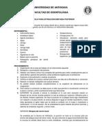 protocolo exodoncias