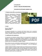 DIAGNOSTICO de Una Asocision Artesanal