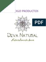 Catálogo de Productos Deva Natural