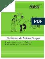 100 Formas Para Animar Grupos