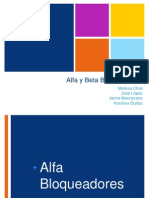 Alfa y Beta Bloqueadores-HTA