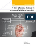A Manager's Guide to Assessing the Impact of Government Social Media Interactions