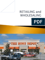 Chapter 12 Retailing and Wholesaling