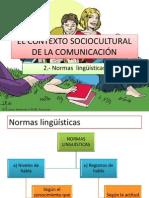Clase 5 - Las Normas Linguísticas