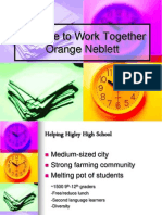 its time to work together power point