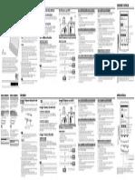 Guía de Inicio Rápido - Sony Prs-t2