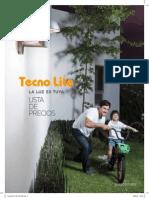 Lista de Precios Tecnolite 2012